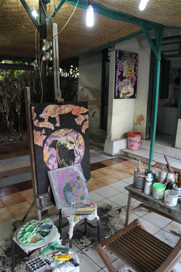 Antonius Kho's studio