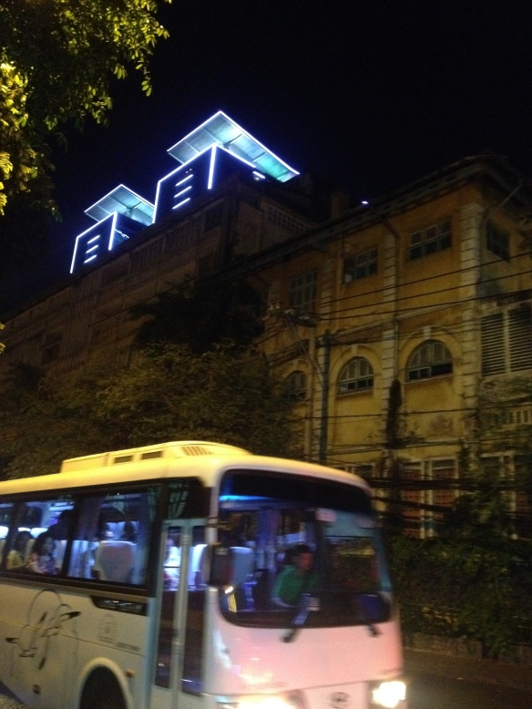 The old and new in Ho Chi Minh City