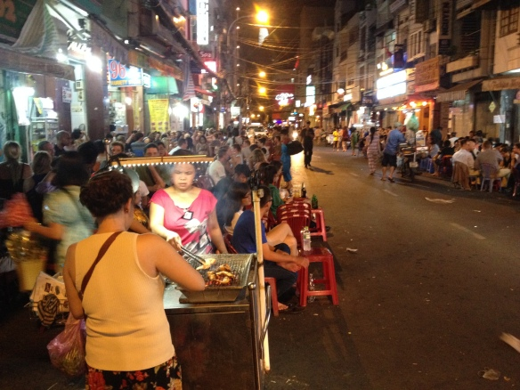 A Sweet night out in Ho Chi Minh.