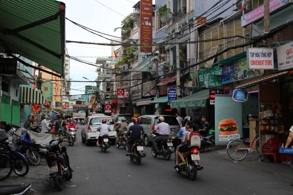 In contrast the hustle and bustle of Ho Chi Minh City