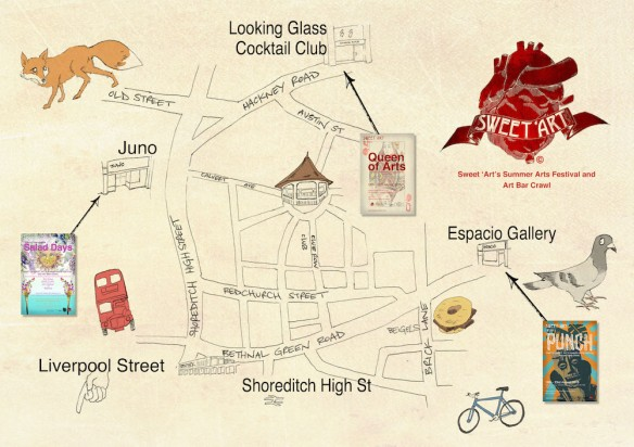 Summer Festival Map